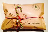 Отдается в дар Новогоднее поздравление в конверте