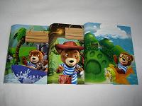 Отдается в дар Обложки от «Медвежонок Барни» 3 шт