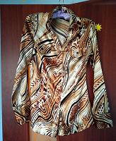 Отдается в дар Эффектная блузка 38-40 р.