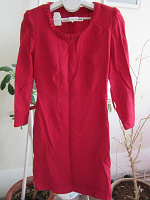Отдается в дар Платье ручной работы винтажное из шерсти размер 44-46