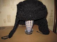Отдается в дар Шапка-ушанка меховая (каракуль)