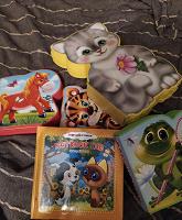 Отдается в дар Книги мягкие детские