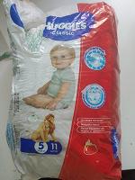 Отдается в дар Памперсы детские на 11-25 кг