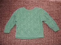 Отдается в дар Детский свитер (ручная работа)
