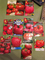 Отдается в дар Много семян томатов