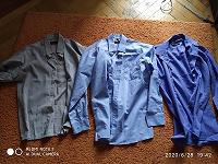Отдается в дар школьные рубашки на рост 152-158 см