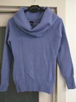Отдается в дар свитер женский с объемным горлом