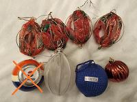 Отдается в дар Новогодние шары и украшения