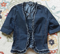 Отдается в дар Блуза джинсовая