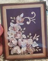 Отдается в дар Картина из ракушек