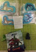 Отдается в дар Игрушки-прилипалы «Море» от Агуши и старатели из маг. Пятёрка
