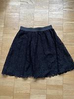 Отдается в дар Кружевная юбка на резинке до колена H&M