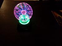 Отдается в дар Плазменная лампа
