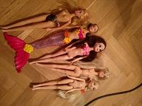 Отдается в дар Куклы под типа Барби но другие