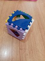 Отдается в дар Кубик для малышей