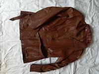 Отдается в дар Женская кожаная куртка, р.46-48