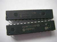 Отдается в дар микросхемы pic16F72- i/sp