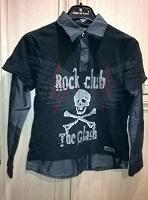 Отдается в дар Рубашка для мальчика 134-140.