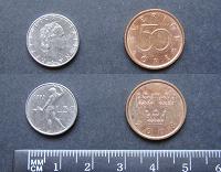 Отдается в дар Европейские монетки