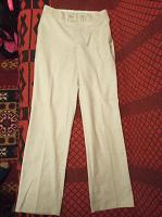 Отдается в дар Мужские льняные брюки 46