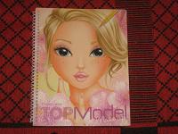 Отдается в дар Альбом-раскраска Топ-модель макияж