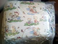 Отдается в дар Бампер для детской кроватки.
