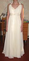 Отдается в дар Платье белое в греческом стиле.