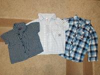 Отдается в дар Рубашки на мальчика