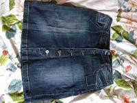 Отдается в дар Юбка джинсовая женская