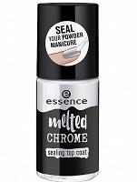 Отдается в дар Верхнее покрытие для ногтей закрепляющее melted chrome, essence. Для втирки.
