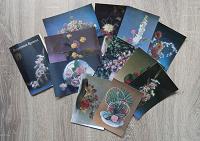 Отдается в дар Набор открыток Искусство букета 1985 г.