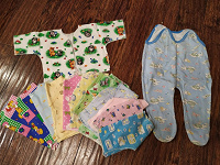 Отдается в дар Одежда малышам от 0 до 1