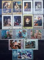 Отдается в дар Картины на марках СССР.
