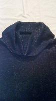 Отдается в дар Тонкий свитерок с люрексом и воротником-шалькой 42-44