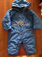 Отдается в дар Комбинезон синий на малыша, примерно на 1,5 года. Б/у