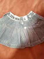 Отдается в дар Юбка джинсовая для девочки 3-4 года