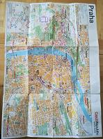 Отдается в дар Карта Праги