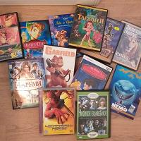 Отдается в дар DVD диски в ассортименте