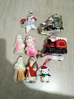 Отдается в дар Новогодние игрушки советские и современные