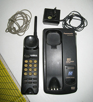 Отдается в дар Радиотелефон Panasonic kx-tc157-b