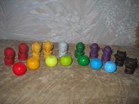 Отдается в дар стиратели и мячи из «Пятёрочки»