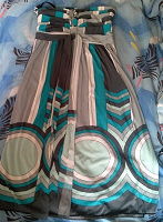 Отдается в дар Летнее платье-бандо S