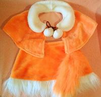 Отдается в дар Карнавальный костюм лисички или белочки, в д.с. или 1 класс.