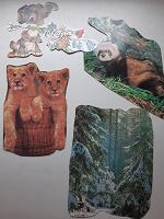Отдается в дар Фрагменты советских открыток