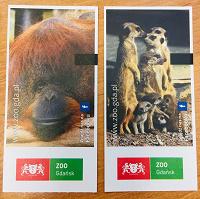 Отдается в дар Билеты в зоопарк
