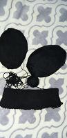 Отдается в дар Нитки для вязания черные мягкие