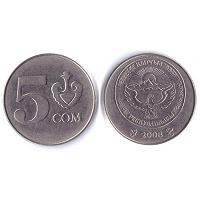 Отдается в дар 5 сом 2008 г. Киргизия