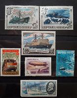 Отдается в дар Техника и транспорт на марках СССР.