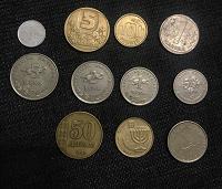 Отдается в дар Монеты иностранные3