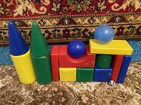 Отдается в дар Детский конструктор